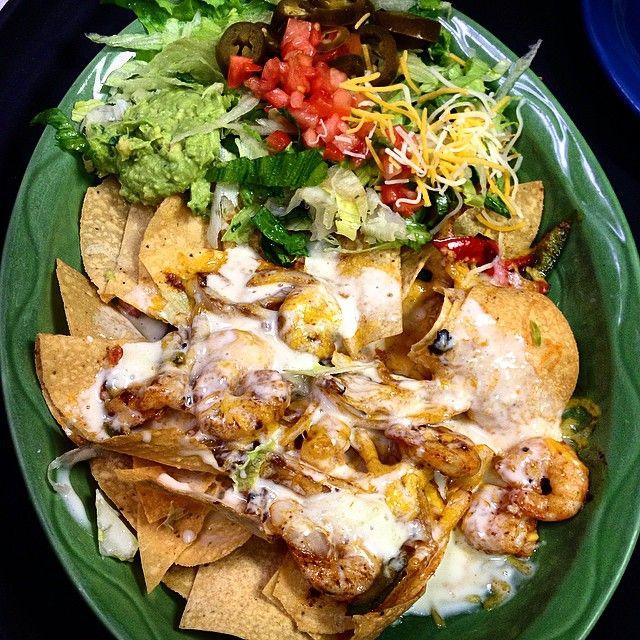 Shrimp Nachos from La Bamba Mexican Restaurant