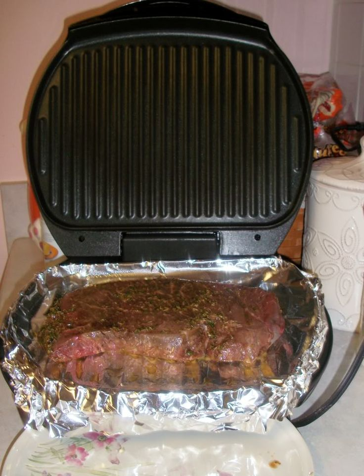 How to Prevent Cleaning a George Foreman Grilling Machine (But Still Get to Use It!) @Katie Schmeltzer Alger