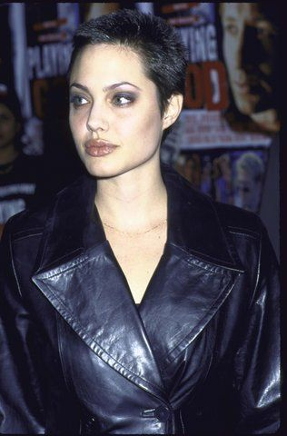 Angelina Jolie–and 22 other women who completely nailed the buzz cut