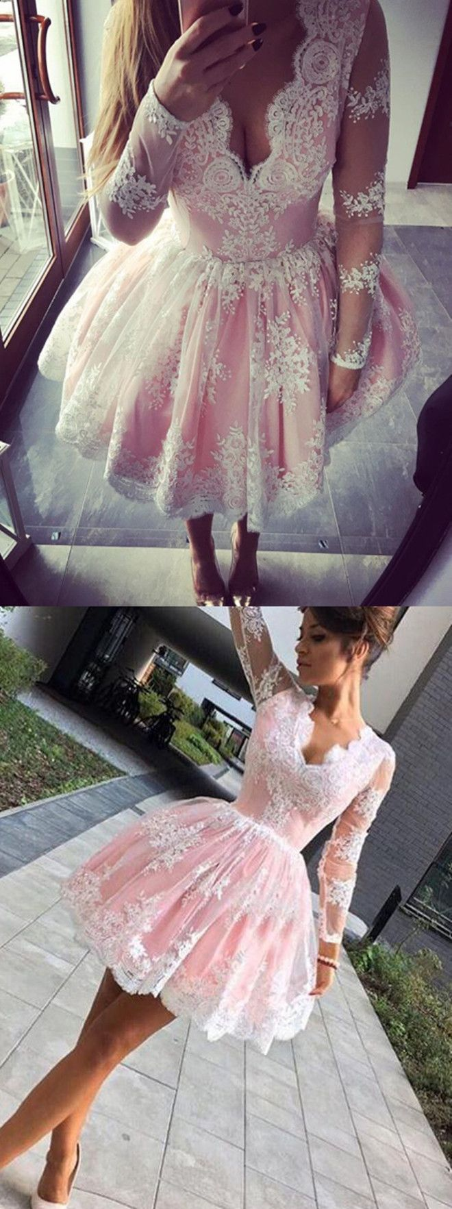 short homecoming dresses,lace homecoming dresses,pink homecoming dresses,graduation dresses