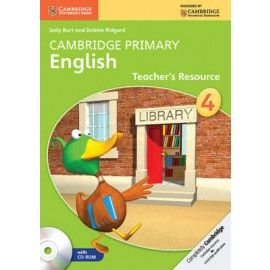 9781107650855, Cambridge Primary English: Teacher's Resource Book with CD-ROM Stage 4