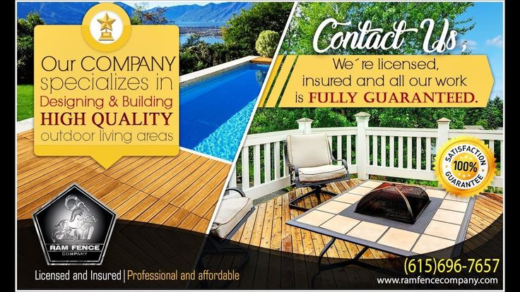 Our company specializes in designing and building, high quality outdoor ...