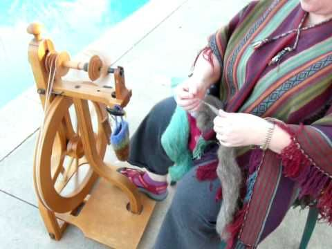 Spinning with a Long Draw--very informative video on using the long draw with…
