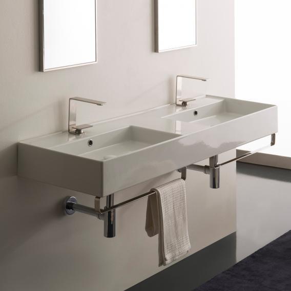 Scarabeo Teorema 2 0 Doppel Aufsatz Oder Hangehandwaschbecken Weiss 5116 Reuter Waschbecken Design Badgestaltung Badezimmer Design