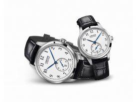 """Uhren-Duo für Dame und Herr: Die Kollektion 1893 von Union Glashütte gibt es schon länger, neu ist, dass die Komplikation """"Kleine Sekunde"""" nun erstmals an Bord ist."""