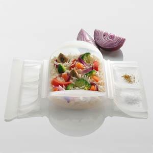 Arroz basmati con verduras