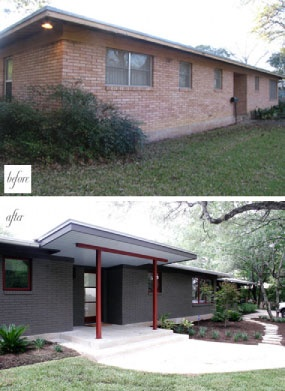 159 Best Images About Before And After Exterior Makeovers On Pinterest Wood Garage Doors