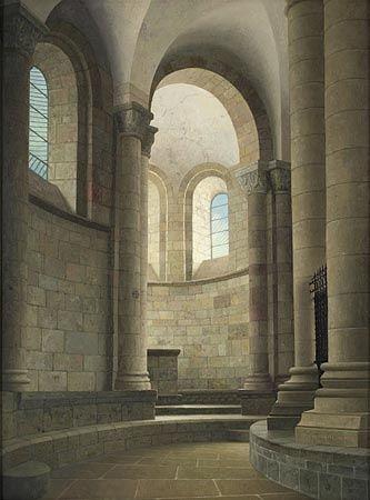 Henk Helmantel, kerk in Conque