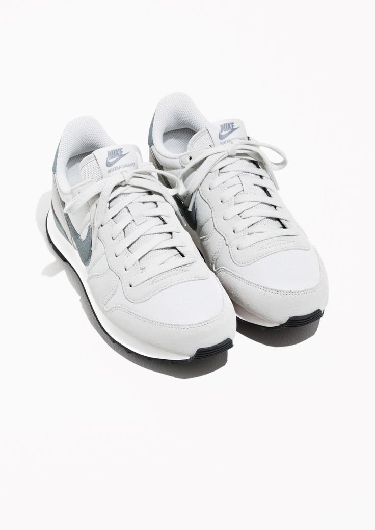 Other Stories image 2 of Nike Internationalist in Grey