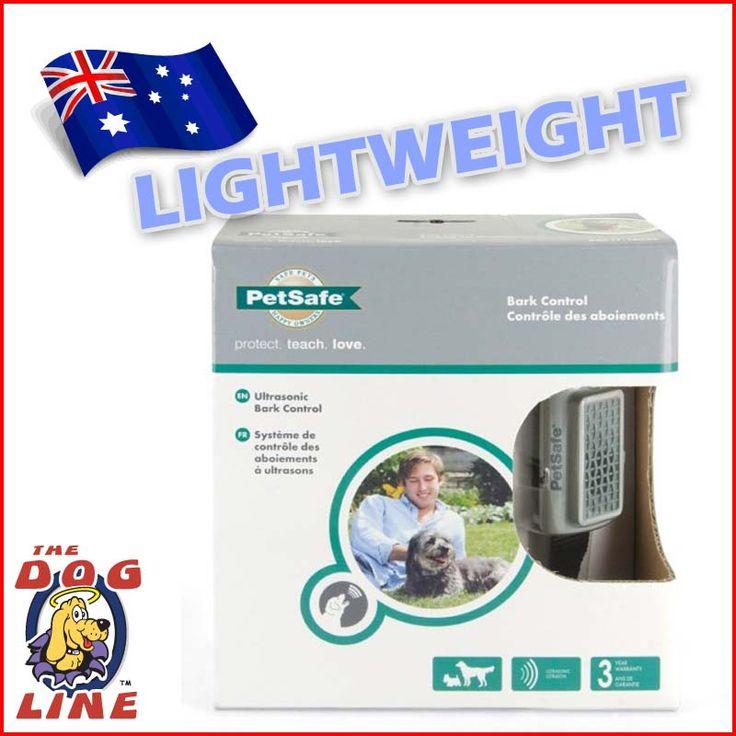 PetSafe UltraLight Sonic Bark Control Collar - a safe bark control collar best suited for small pet dogs. #BarkControlCollar