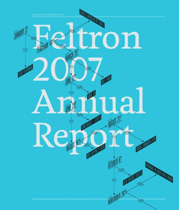 Feltron's Infographic Annual Reports   Trendland