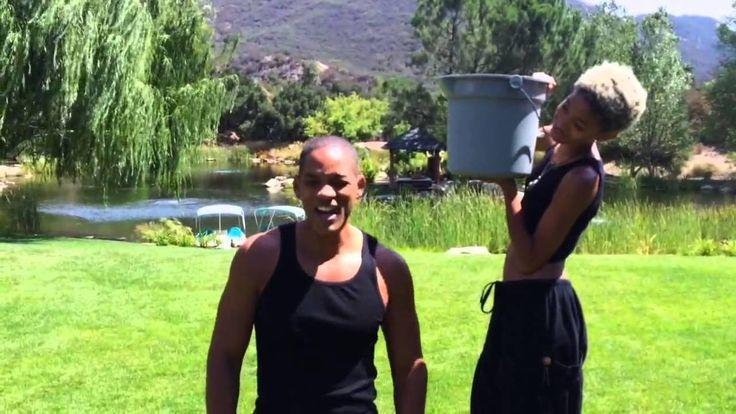 reto de la cubeta con hielo Will Smith / Ice Bucket Challenge Will Smith