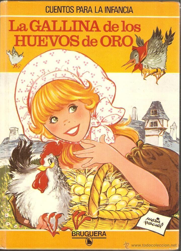 LA GALLINA DE LOS HUEVOS DE ORO - MARIA PASCUAL - Cuentos para la infancia - Nº 11 - BRUGUERA 1981 - Foto 1