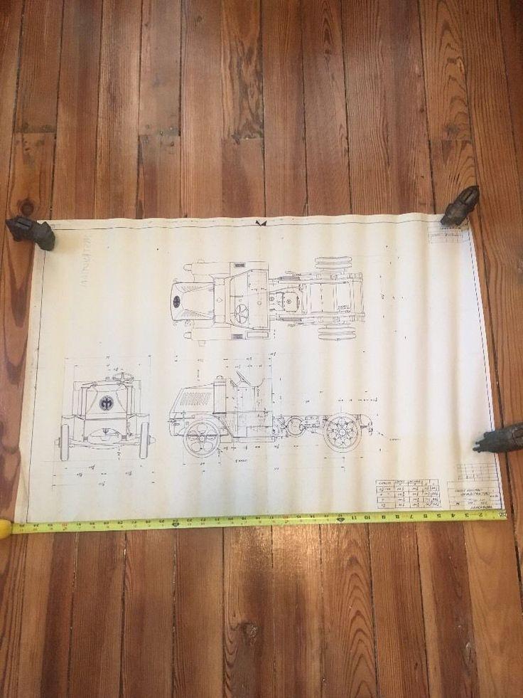 Vtg 1930 freight truck tractor blueprint long blueprint ebay vtg 1930 freight truck tractor blueprint long blueprint ebay ideas pinterest freight truck malvernweather Gallery