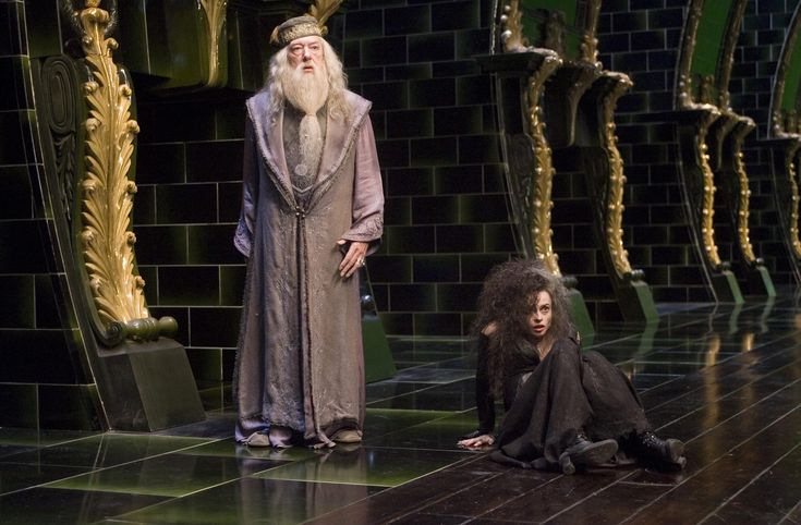 bellatrix lestrange | Image - Albus Dumbledore and Bellatrix Lestrange (Order of the Phoenix ...