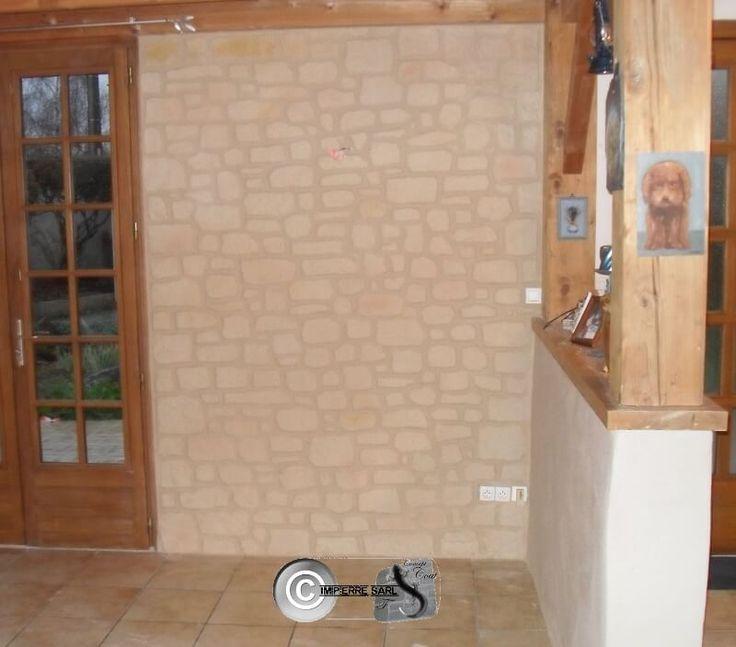 39 best images about enduit pierre interieur mur en pierre apparente on pinterest taupe. Black Bedroom Furniture Sets. Home Design Ideas
