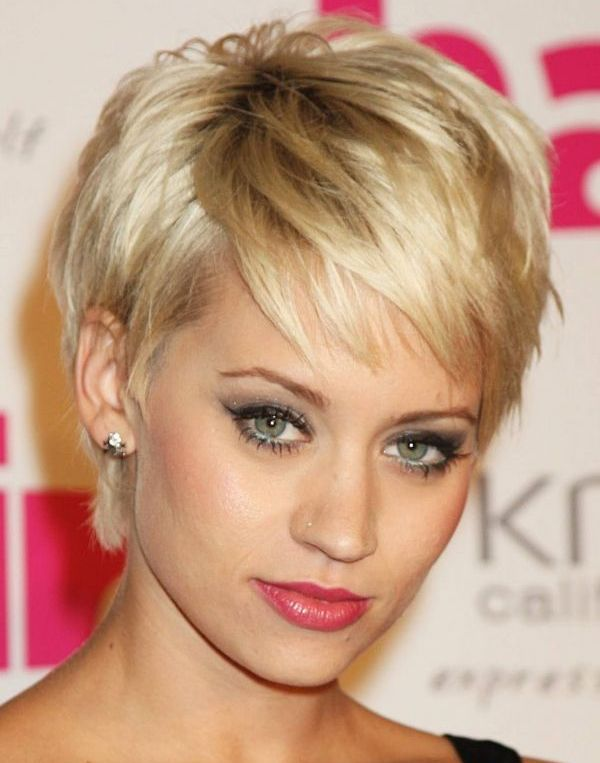 Creative Ladies Short Hairstyles 2016