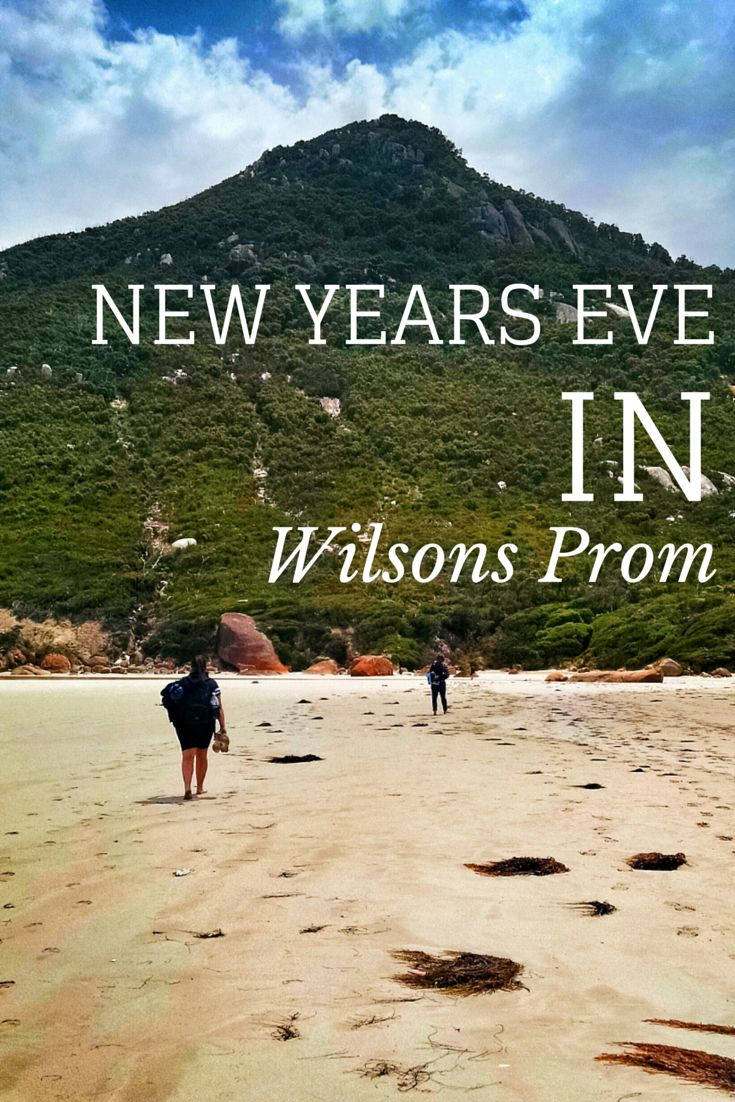 Skewing traditional New Years Eve celebrations, this year I went camping. Wilsons Prom is the southernmost point in Australia.