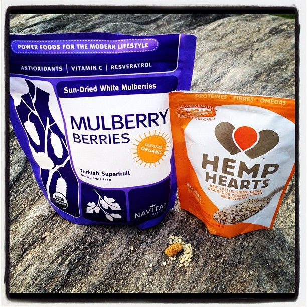 """""""The best tasting snack EVER- try mulberries and hemp hearts- tastes like Caramel Cookies """""""