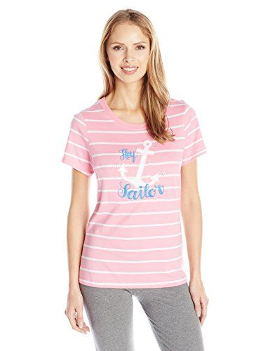 Little Blue House by Hatley Women's Short Sleeve Crew Neck Pajama Tee - http://www.darrenblogs.com/2017/02/little-blue-house-by-hatley-womens-short-sleeve-crew-neck-pajama-tee/