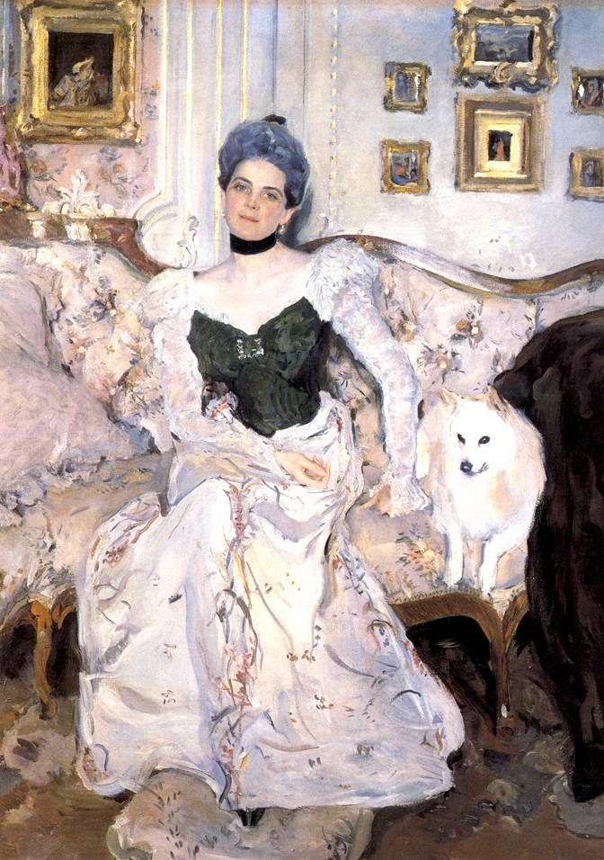 Портрет княгини Зинаиды Юсуповой..Валентин Александрович Серов родился 19 января 1865 года в Петербурге. 5 декабря 1911 года Валентина Александровича Серова не стало.