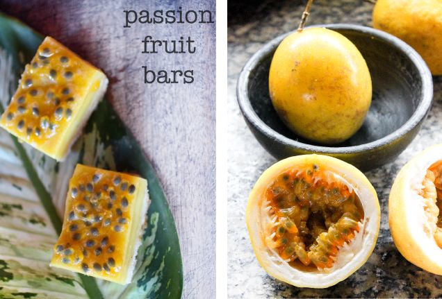 Kitchen Corners: The Bar, Fruit Bars, Passionfruit Bar, Bar Kitchens, Bar Desserts, Kitchen Corner, Passion Fruit, Favorite Fruit, Kitchens Corner