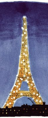 Once upon a time I was against the Sparkling Tour Eiffel... then I saw it in person, sitting with my flatmate at Place du Trocadero, avoiding city rats.     It's... Sparkling...