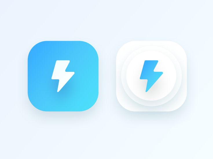 bolt app icon for an android application (WIP) by Prakhar Neel Sharma #Design Popular #Dribbble #shots