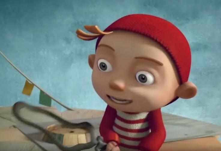 Ce film d'animation est une fabuleuse façon de faire comprendre à tous que les erreurs sont des chances d'apprendre et de penser différemment pour mieux créer ! C'est ce que vont découvrir ce grand-père et son petit-fils 1:57