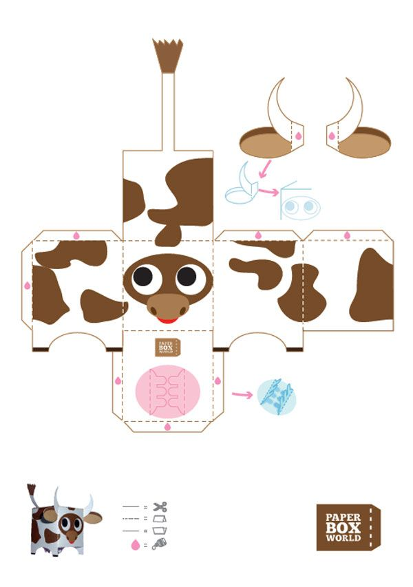 Free Printable Paper Toys | The Crafty Blog Stalker