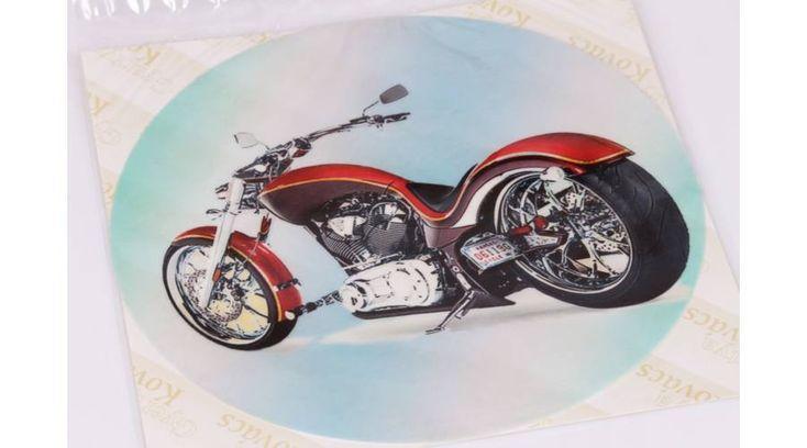 Piros chopper motor tortaostya - Süss Velem.com