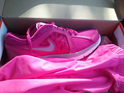 Love these pink Nike's!