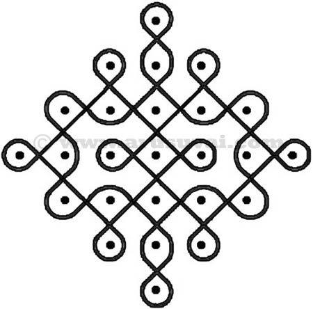 சிக்கு கோலம் - 4 | arusuvai