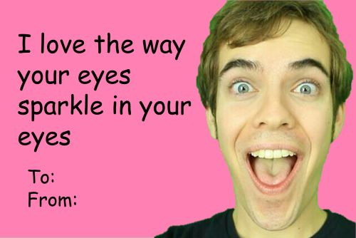 Pin by Hailey Sakuraba on Jacksfilms – Youtube Valentines Day Cards