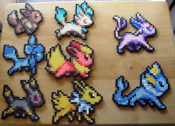 Complete Eevee set! $32.00 + shipping on etsy