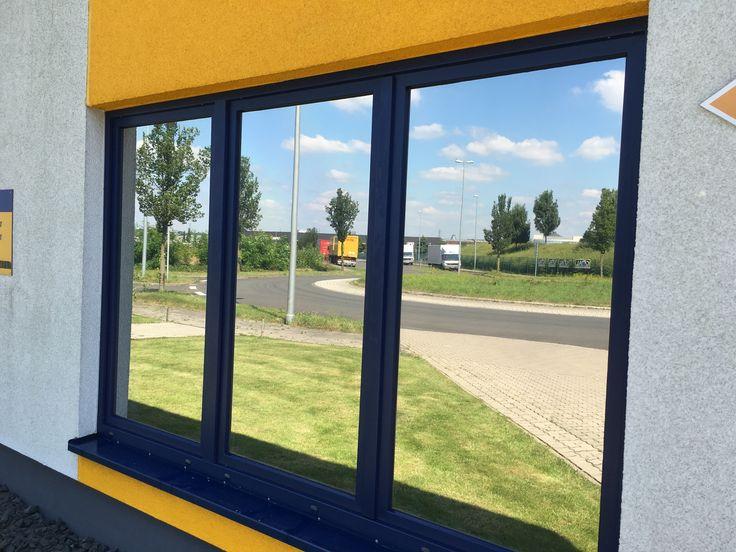 Hitzeschutzfolien mit Spiegeleffekt als Sichtschutz