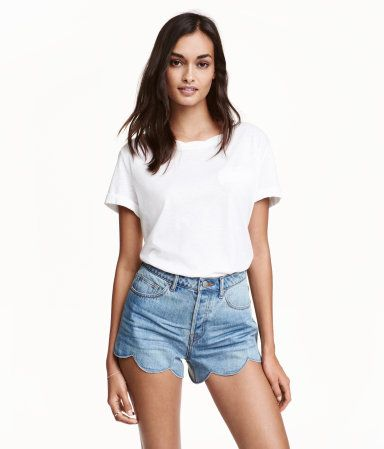 Jeans overall damen hm