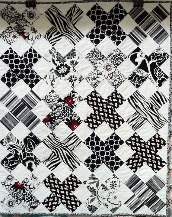x ray quilt beautiful black and white quilt