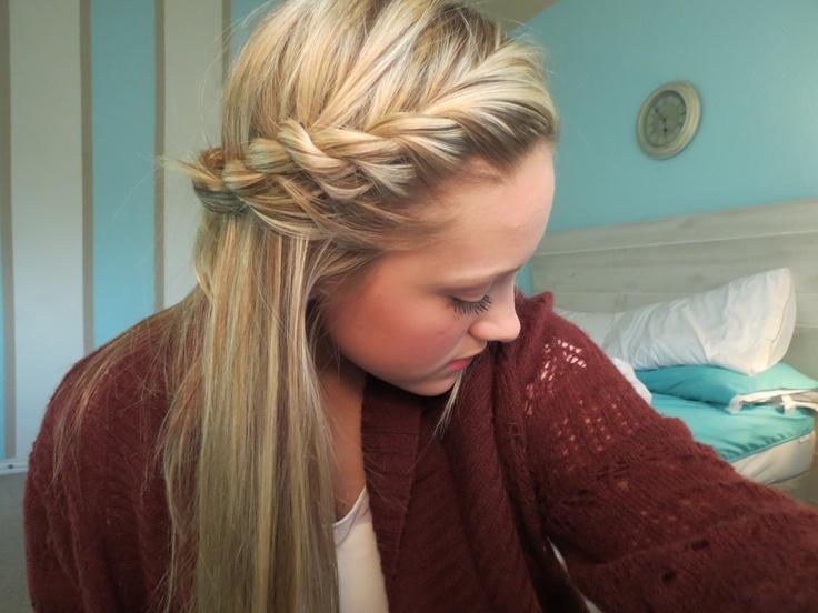 rope braid on my hair