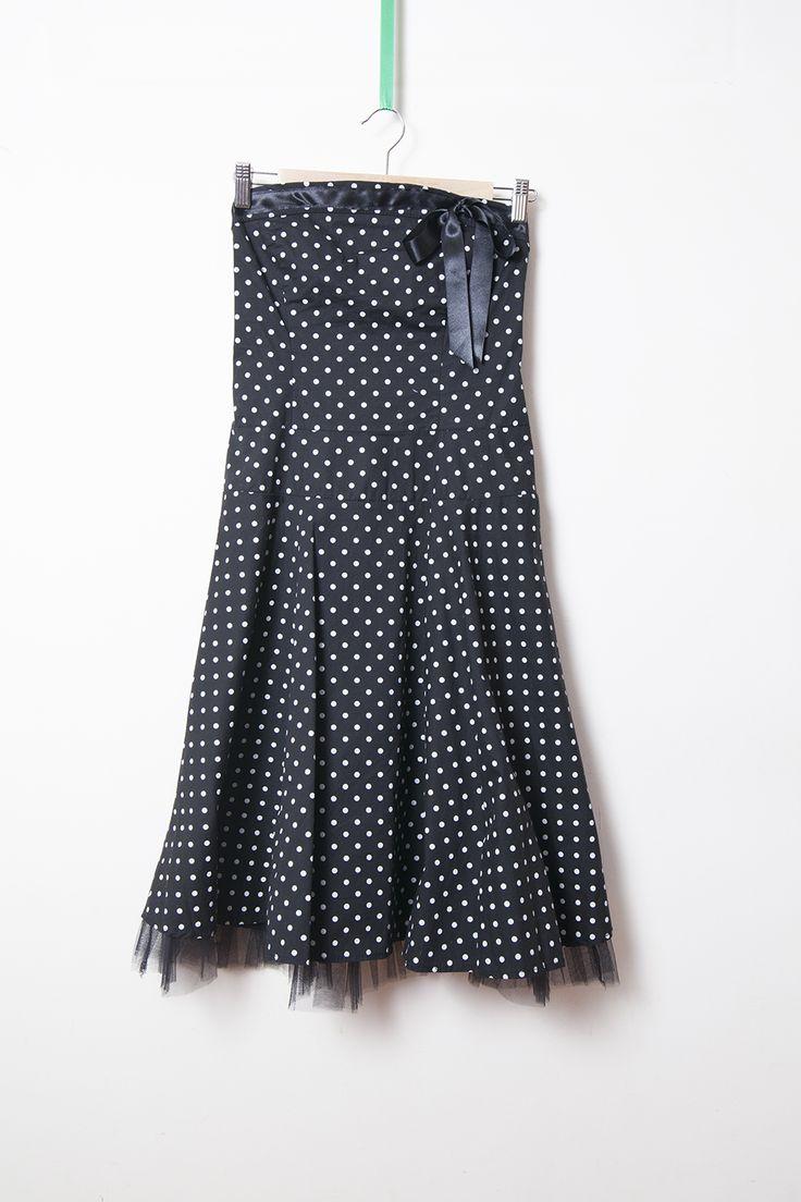 rochie cu buline si tul - 80 lei brand: Rinascimento stare: purtata o data marime: M lungime: 91 cm