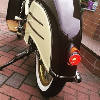 Ein schönes Heck...   #bavariancustomcrew #miasancustom #custom #custombike #custommade #simson #schwalbe #kr51 #ddr #ostalgie #ostblech #old #oldtimer #oldschool #vintage #retro #potd #picoftheday #bike #back