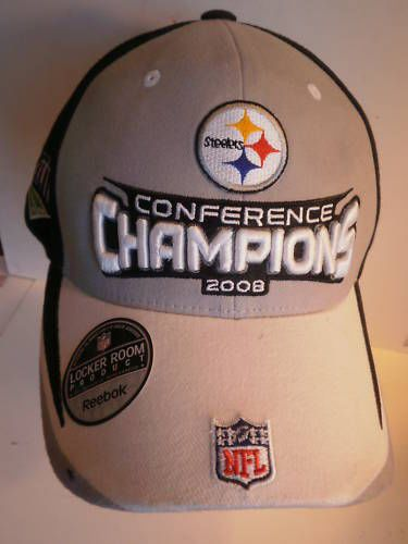 Pittsburgh Steelers Super Bowl 43 Champions Hat Reebok One Size #PittsburghSteelers