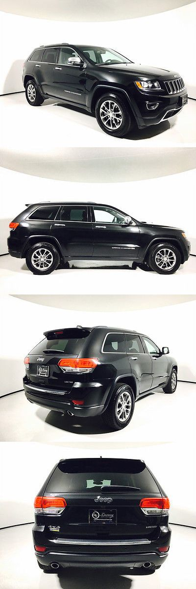 SUVs: 2014 Jeep Grand Cherokee Limited 2014 Jeep Grand Cherokee Limited Black Suv Automatic -> BUY IT NOW ONLY: $24799.0 on eBay!