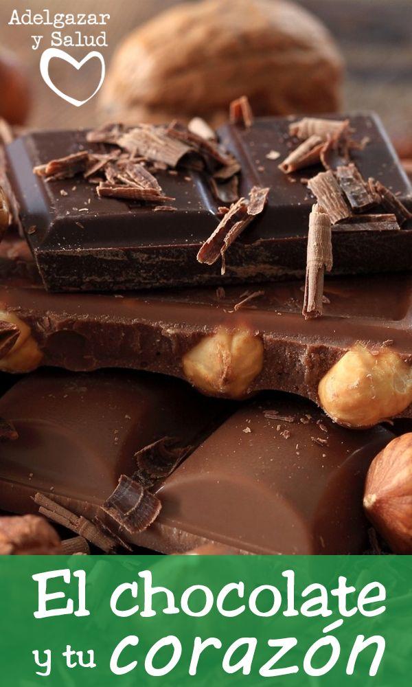 """El chocolate es un aliado del corazón. Un estudio publicado por la prestigiosa revista """"The British Medical Journal"""" ha demostrado los beneficios que el consumo del chocolate negro y en concreto el cacao, proporcionan al organismo. #Chocolates #Corazón #Salud #Cardiovascular #Tips #Consejos #Hábitos #Saludables #Alimentos"""