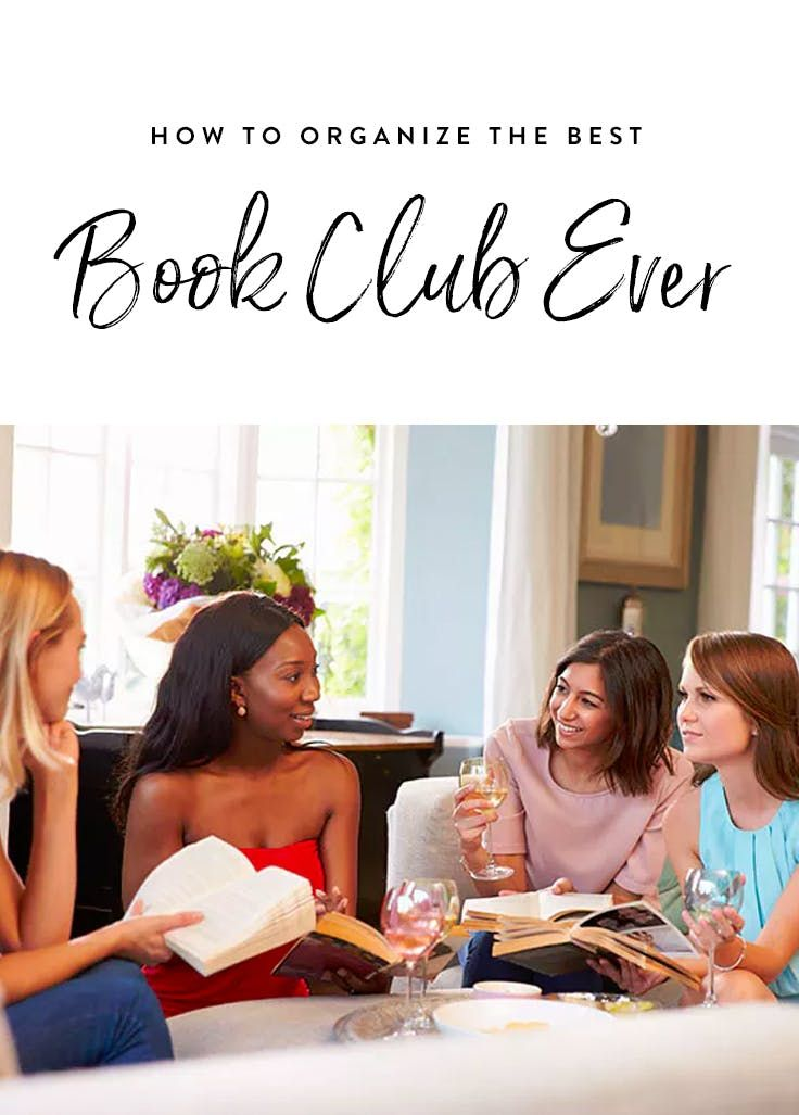 How to Organize a Book Club That Will Actually Stay Together #purewow #books #advice #tip