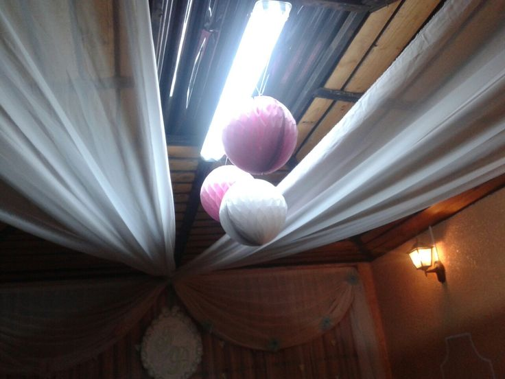 Decoración techo