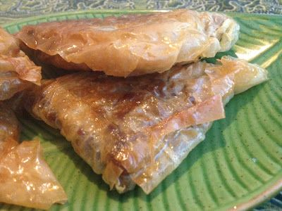 Maroccan savoury pastries