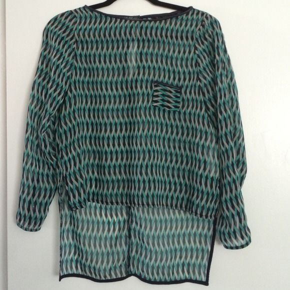 Zara Blouse Used but in great conditions Zara Tops Blouses