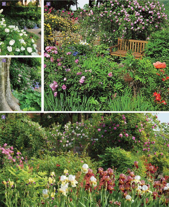 giardino a terrazze, giardino terrazzato, giardino pensile