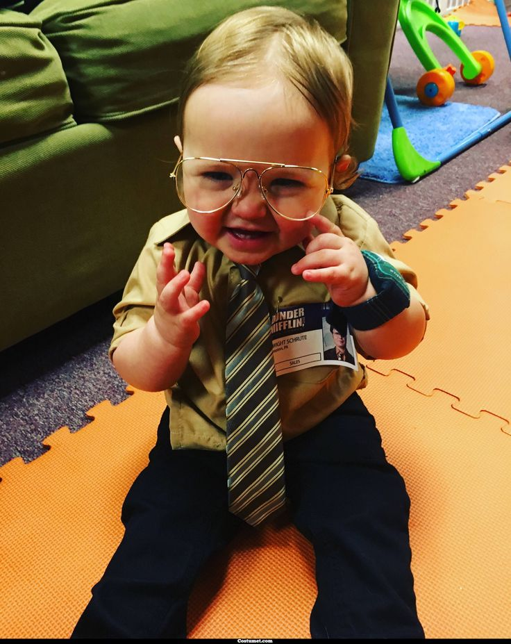 Dwight Schrute & Baby Schrute (The Office) Costume for